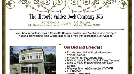 The Historic Valdez Dock Company B&B