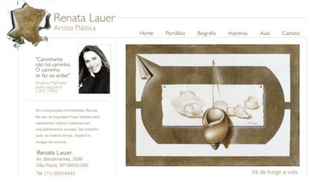 Renata Lauer, Artist Website