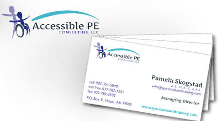 APE Consulting Logo & Business Cards