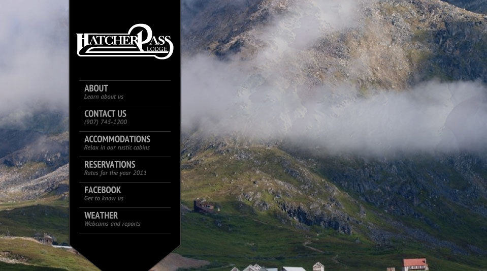 Hatcher Pass Lodge Website Redesign