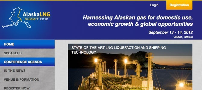 Alaska LNG Summit Web & Mobile Sites