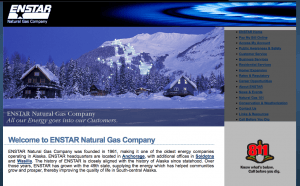 Old Enstar website