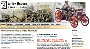 Valdez Museum & Historical Archive, old website