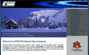 Old Enstar website